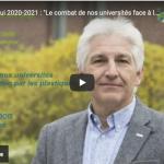 Le Prof. Philippe Dubois : Chaire Francqui 2021 à l'ULiège