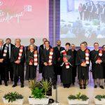 L'UMONS a décerné ses insignes de Docteur Honoris Causa à 9 personnalités